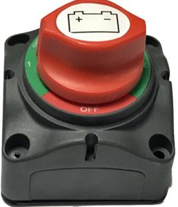 Battery Isolator Heavy Duty Marine Type 4 Position For Use With Twin Batteries