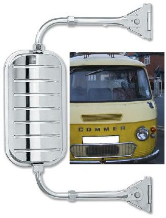 Mini West Coast Truck Mirrors