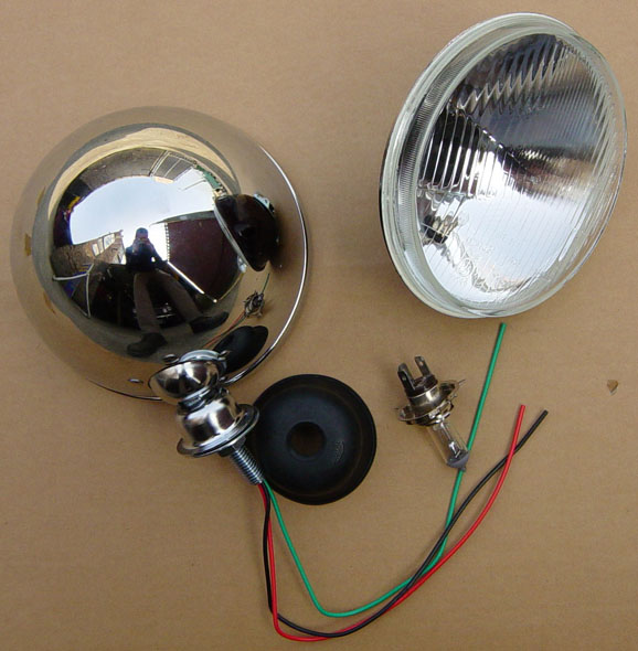 Replacement Lamp Unit Only For Bug-Eye Headlamp