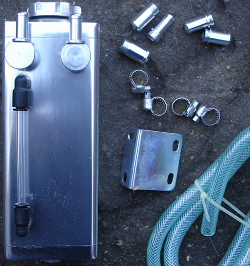 Rectangular Alloy Oil Catch Tank Kit