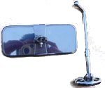 Dash Top Or Hang Down Rear View Mirror Adjustable