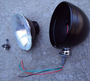 Bug-Eye Headlamp Assemblies for Kit Cars, Custom & Hotrod