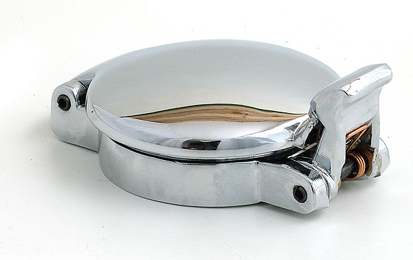 Aston Chrome Fuel Filler Cap 2 3/4""
