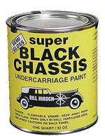 Bill Hirsch Super Black Chassis Paint