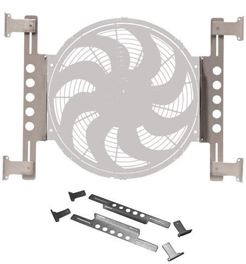 Billet Alloy Fan Mounting Kit