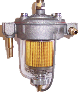 Filter King Fuel Regulator Glass Bowl
