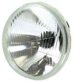 "5.75"" H1 Halogen Lamp (Single Inner Beam) Direct Replacement for 53/4"" Sealed Beam"