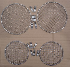 Mesh Headlamp Grill Stone Guards