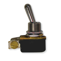 Toggle Switch Stainless Slimline (Off/On)