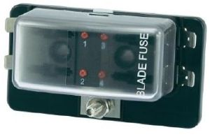 Blade Fusebox & Distribution/Busbar With LED Fuse Failure Indicator