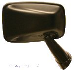 Tex Black Door Mirror