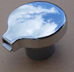 Fuel Filler Cap Flip Top Chrome