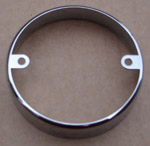 Chrome Surround for Circular Panel Mount Lamps
