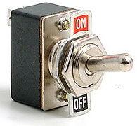 Toggle Switch with Legend Plate (Off/On)