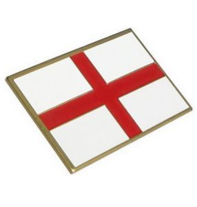 St George Cross Enamel Badge Self Adhesive