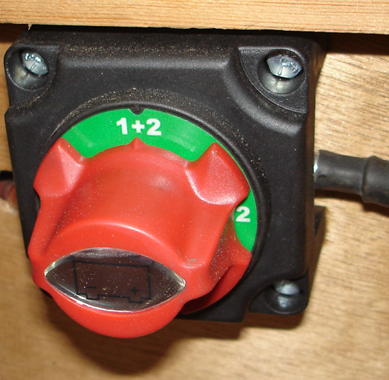 Battery Selector Switch Small