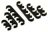 Black Nylon Plug Lead Separators