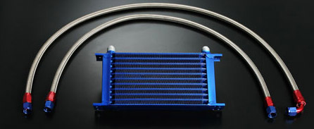 Stainless Braided Oil Cooler Lines (Standard Length)