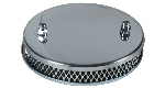Chrome Sports Air Filter for Solex Carb
