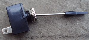 Long Toggle Switch Stainless ABS Toggle (Off/Momentary)