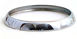 Headlamp Chrome Rim 7""