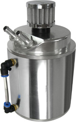 Large Alloy Oil Catch Tank With Breather