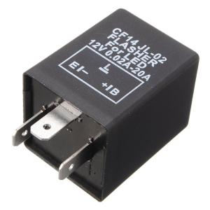 Electronic Flasher Relay 3 Pin