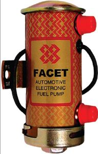 "Facet Cylindrical ""Red Top"" Fuel Pump"