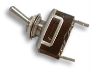 Toggle Switch Stainless (On/Off/On)