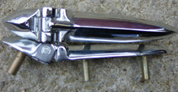 Chrome External Boot Hinges