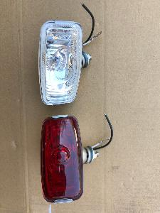 Stainless Halogen Reversing Or Fog Lamp