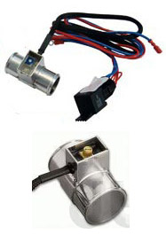 Adjustable Electronic Cooling Fan Thermostat Switch Inline Fit to Hose