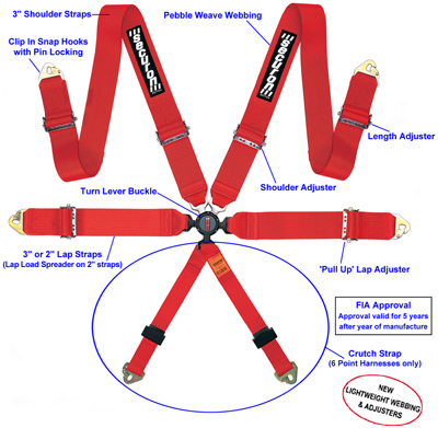 6 Point Harness Securon