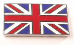 Union Jack Enamel Badge Self Adhesive Large