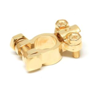 Battery Terminal Copper Coated Zinc Clamp
